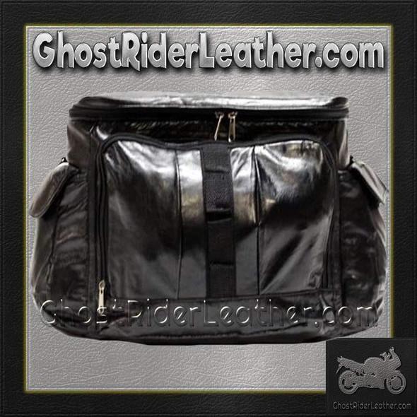 PVC Motorcycle Sissy Bar Travel Bag / SKU GRL-SB7-DL