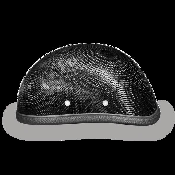 Novelty Motorcycle Helmet - Real Carbon Fiber - Eagle Shorty - 2002G-DH