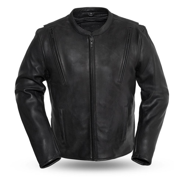 Revolt - Men's Motorcycle Leather Jacket - SKU FIM271CPMZ-FM