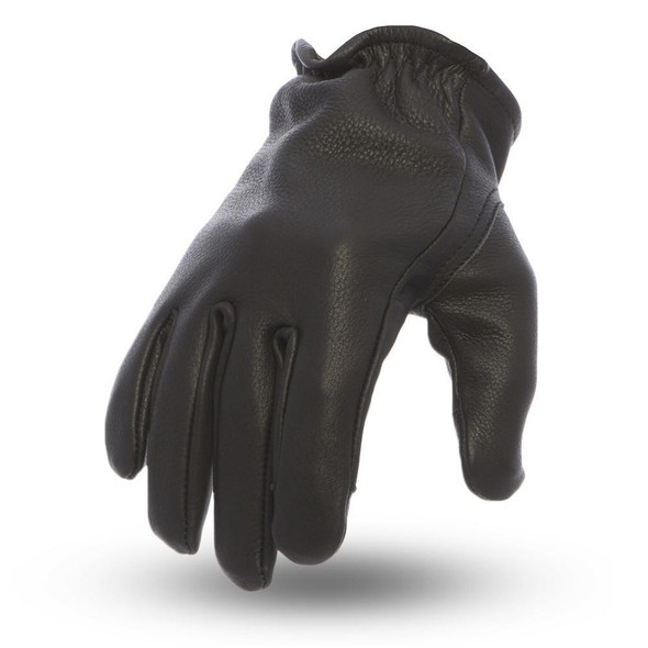 Leather Motorcycle Gloves - Men's - Choice Of Colors - Roper - FI211-FM