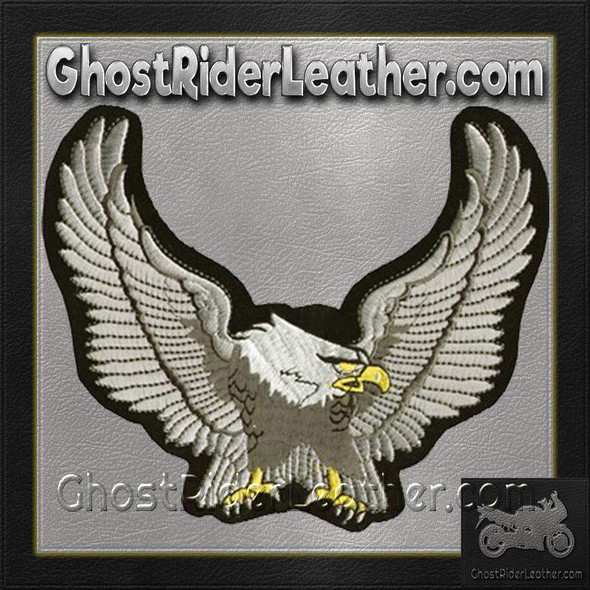 Silver Eagle with Wingspan Patch / SKU GRL-PAT-C214-DL