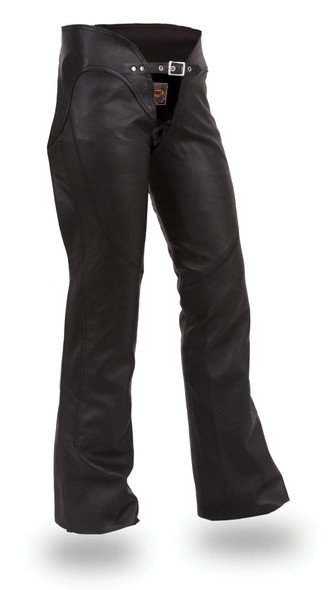 Sissy - Women's Best Leather Motorcycle Riding Chaps - SKU FIL745CSL-FM