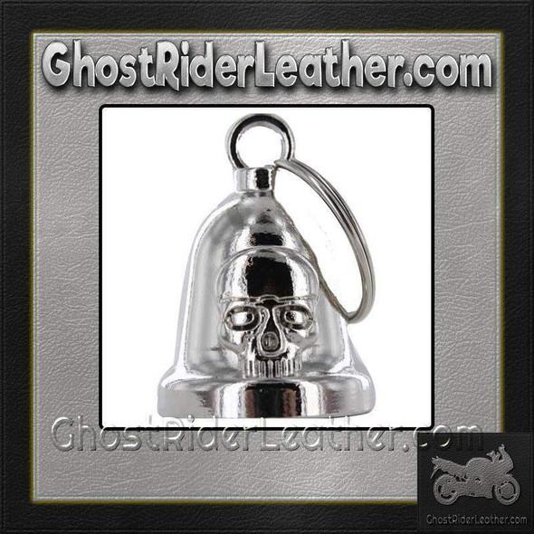 Skull - Chrome - Motorcycle Ride Bell - SKU GRL-BLC29-DL