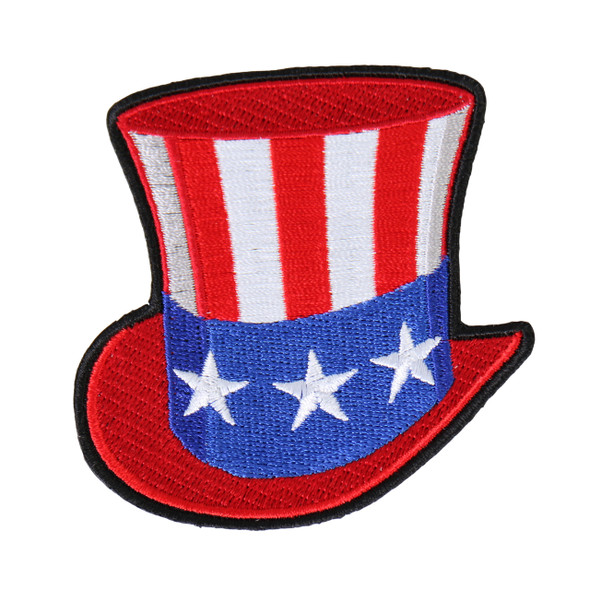 Uncle Sam Hat - American Flag Hat - Patch - SKU PAT-UNCLESAMHAT-HI