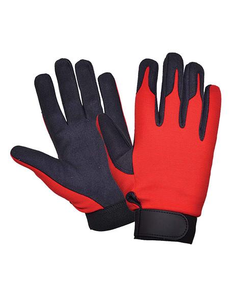 Full Finger Mechanic Gloves - Biker Gloves - 8115-00-UN