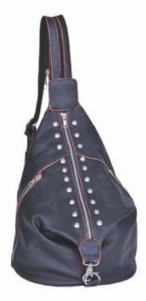 Genuine Leather Concealed Carry Gun Crossbody Purse - Bag - SKU 2174-00-UN
