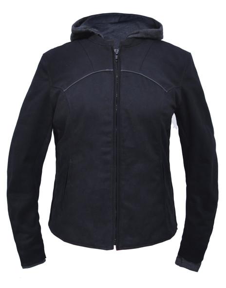 Women's Denim Hoody Jacket