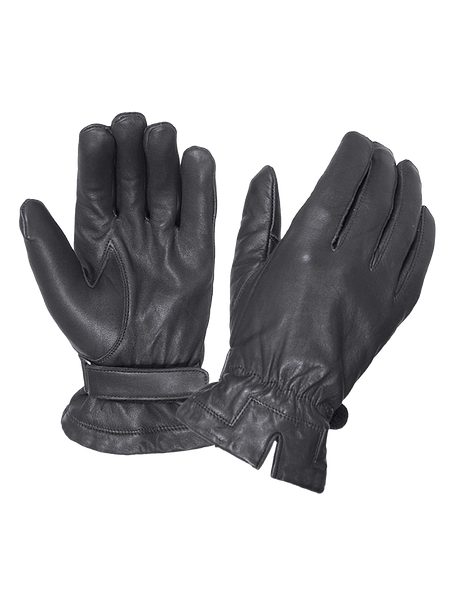 Women's Leather Motorcycle Gloves - Biker Gloves - SKU 8275-PL-UN