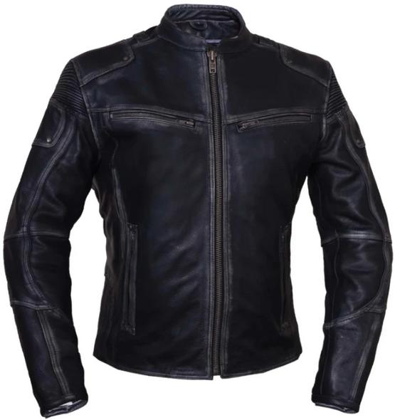 UNIK Ladies Ultra Leather Reflective Motorcycle Jacket - 6833-RF-UN
