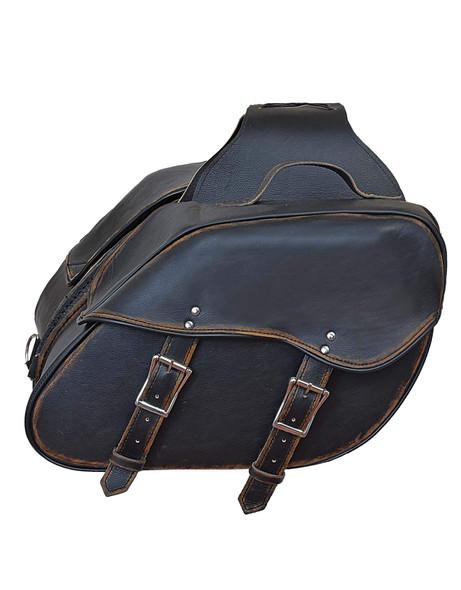 UNIK Leather Saddle Bags 2