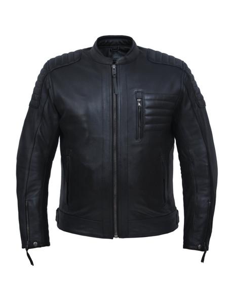 UNIK Men's Premium Leather Motorcycle Jacket