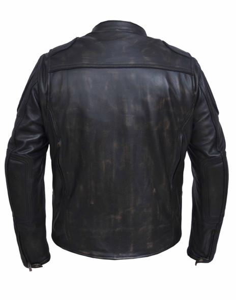 UNIK Men's Ultra Leather Nevada Brown Motorcycle Jacket