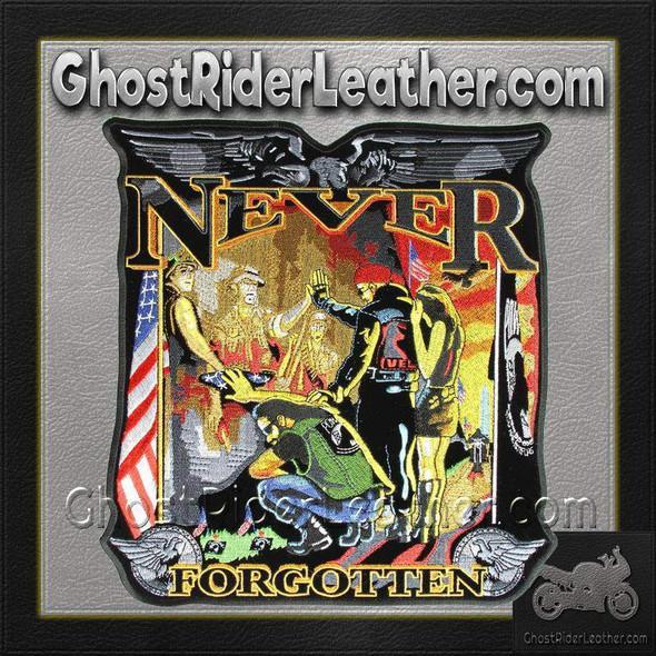 Vietnam Wall - Never Forgotten Vest Patch - Small - SKU GRL-PPA4140-HI