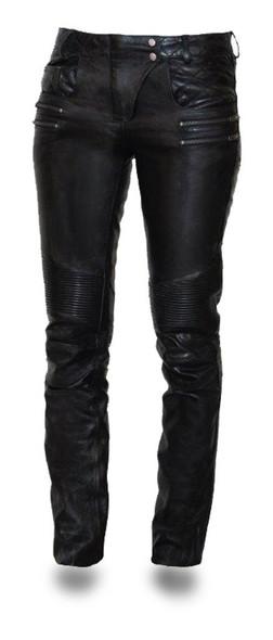 Vixen Women's Leather Pants - SKU GRL-FIL711CJ-FM
