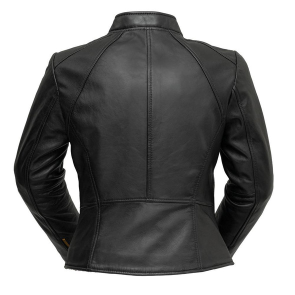 ZOEY - Ladies Leather Blazer - WBL1394-FM
