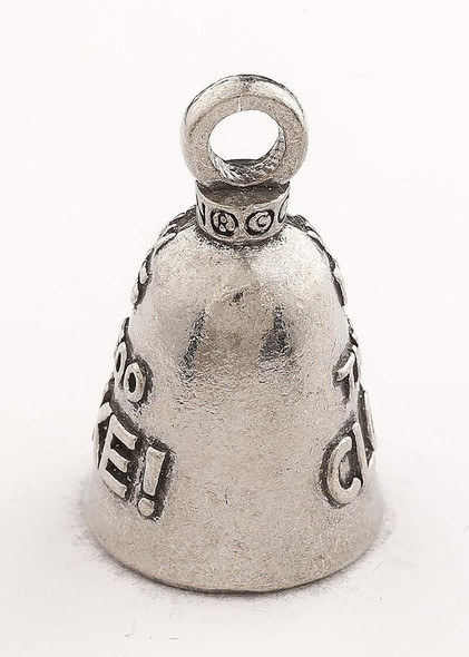 If You Can Read This Then You Are Too Close To My Bike - Pewter - Motorcycle Guardian Bell - Made In USA - SKU GB-IF-YOU-CAN-R-DS