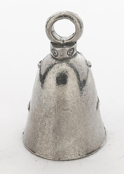 LadyBug - Pewter - Motorcycle Guardian Bell® - Made In USA - SKU GB-LADY-BUG-DS