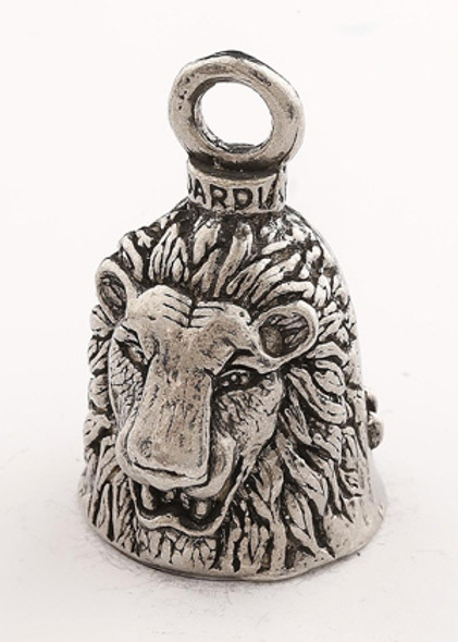 Lion - Pewter - Motorcycle Guardian Bell® - Made In USA - GB-LION-DS