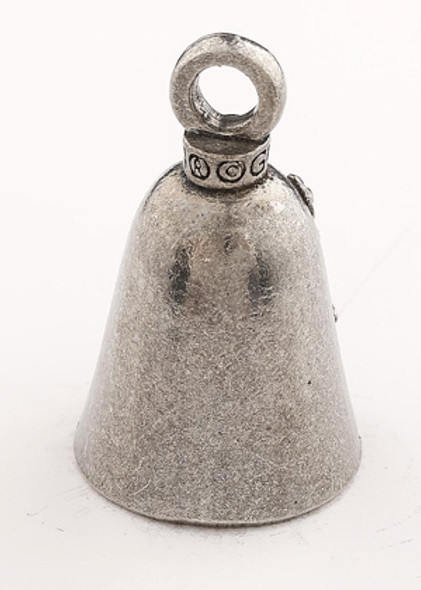 Love - Pewter - Motorcycle Guardian Bell® - Made In USA - SKU GB-LOVE-DS
