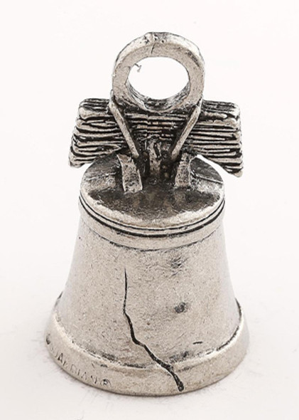 Liberty Bell - Let Freedom Ring - Pewter - Motorcycle Guardian Bell® - Made In USA - SKU GB-LIBERTY-DS
