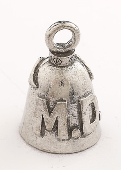 MD - Doctor - Pewter - Motorcycle Guardian Bell® - Made In USA - SKU GB-MD-DS