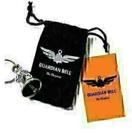 Shamrock - Pewter - Motorcycle Guardian Bell® - Made In USA - SKU GB-SHAMROCK-DS