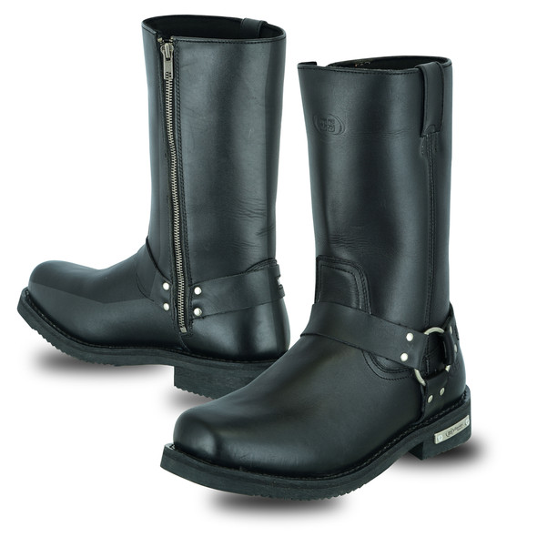 Men's Waterproof Motorcycle Riding Harness Boots- SKU DS9739-DS