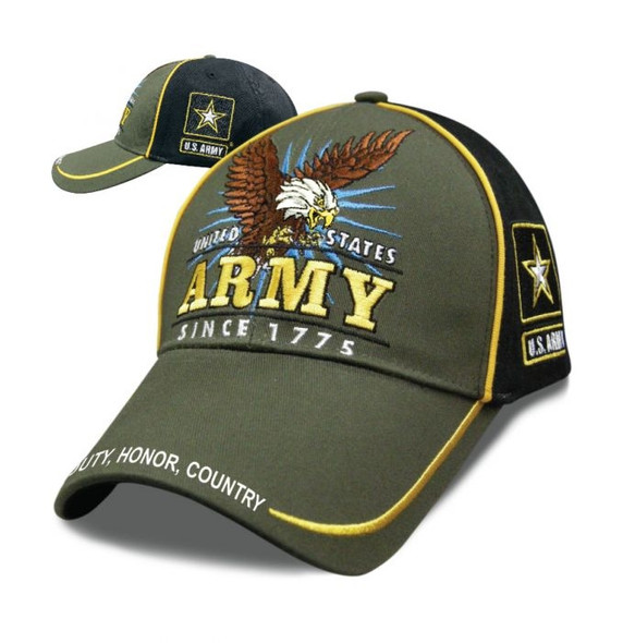 Army - Victory Hat - Baseball Cap - Officially Licensed - SKU SVICAR-DS