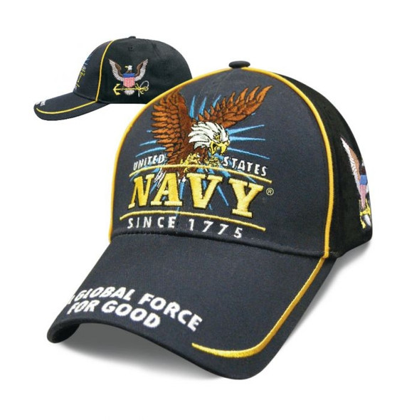 Navy - Victory Hat - Baseball Cap - Officially Licensed - SKU SVICNV-DS