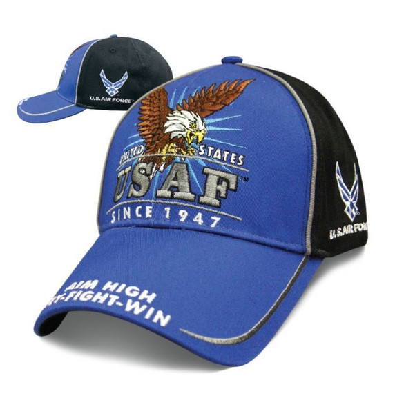 Air Force - Victory Hat - Baseball Cap - Officially Licensed - SKU SVICAF-DS
