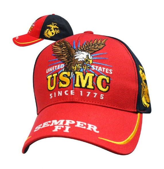 Marine Corps - Victory Hat - Baseball Cap - Officially Licensed - SKU SVICMA-DS