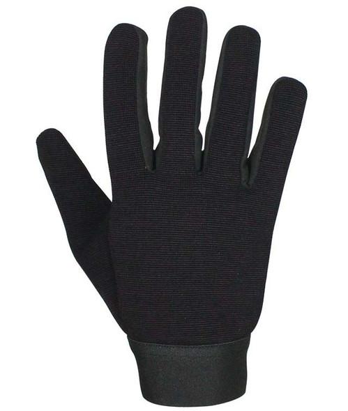 Black Mechanics Gloves - SKU GLZ50-N-DL