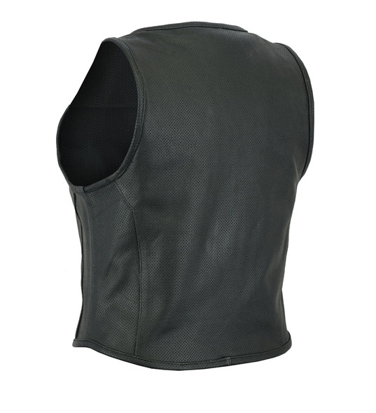 Leather Vest - Women's - Updated SWAT Team - Perforated - DS002-DS