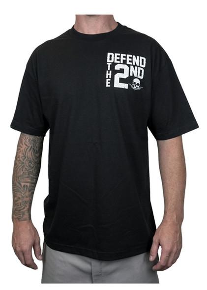 Men's Biker T-shirt - Defend The 2nd - All Guns Matter - SKU MT144-DS