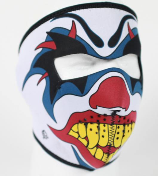 Full Face Neoprene Face Mask - Clown - Motorcycle Mask - FMD06-HI
