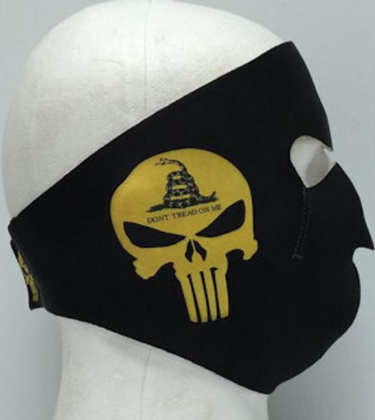 Full Face Neoprene Face Mask - Don't Tread On Me - Motorcycle Mask - FMY05-HI