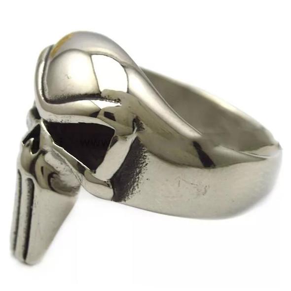 Punisher Skull Biker Ring - Stainless Steel - Biker Jewelry - Biker Ring - R3003-DS