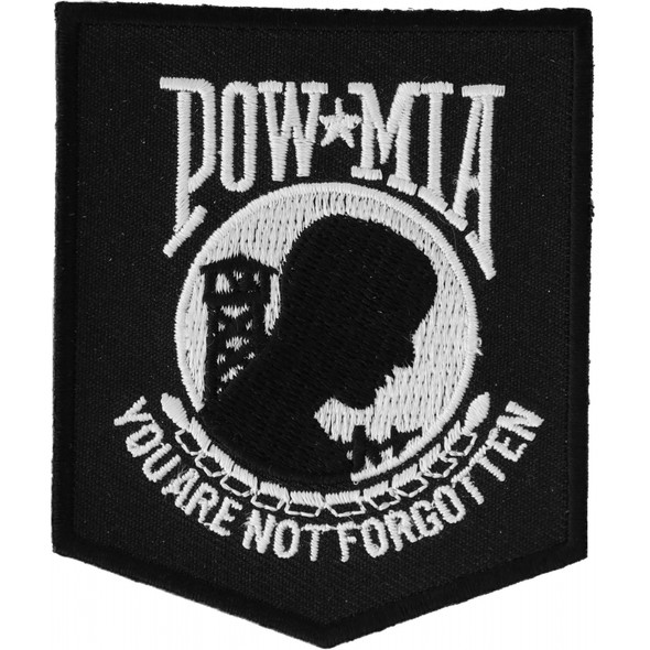 POW MIA You Are Not Forgotten Patch - Buy One Get One Free - Vest Patch - P2018-DS