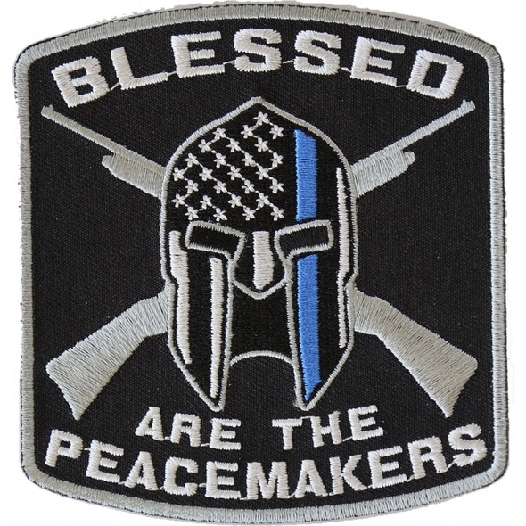 Blessed Are The Peachmakers Patch - Buy One Get One Free - Vest Patch - P4622-DS