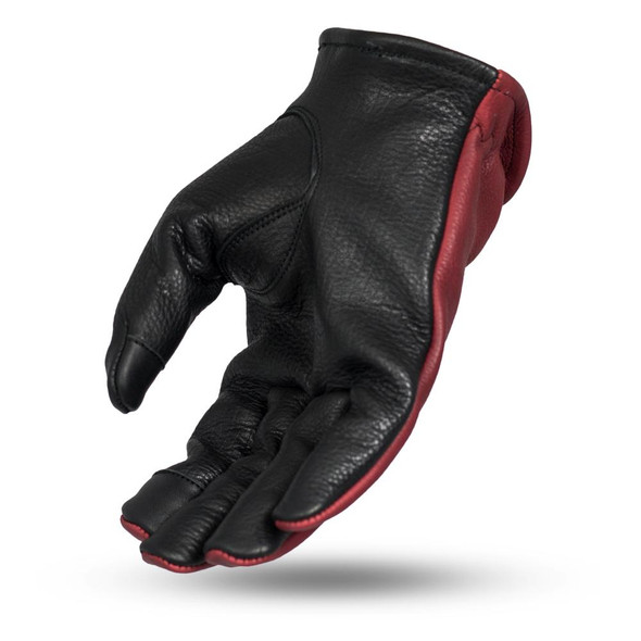 2-Tone Leather Driving Gloves - Choice Of Colors - SKU FI217-FM