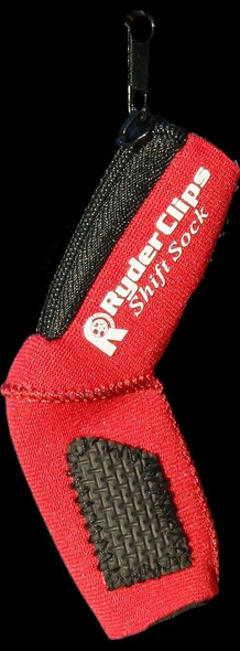 Neoprene Shift Sock - Red- Motorcycle Accessories - SS-RED-DS