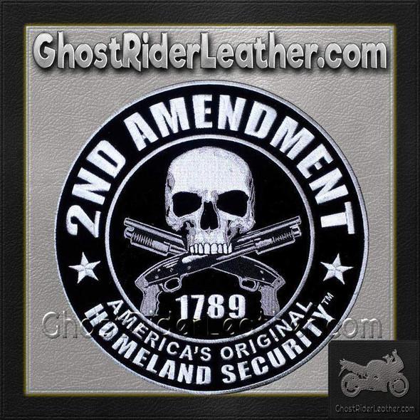 2nd Amendment Original Homeland Security - Vest Patch - PPA5957-HI