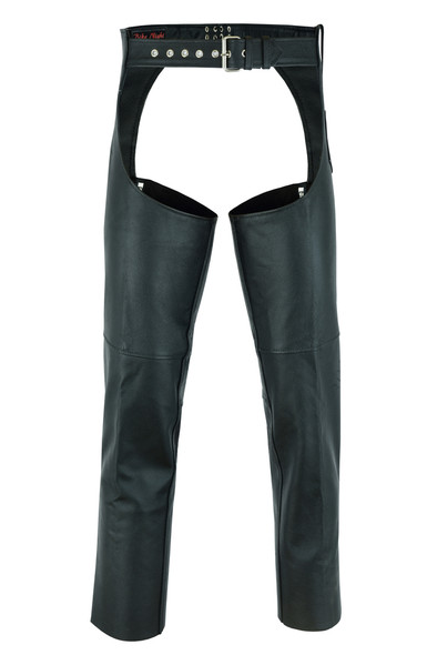 Men's Leather Chaps - Motorcycle - Unisex - Big - Up To 10XL - DS-400-DS