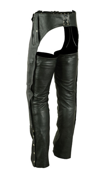 Leather Chaps - Deep Pocket- Unisex - Big - Up To 8XL - DS476-DS