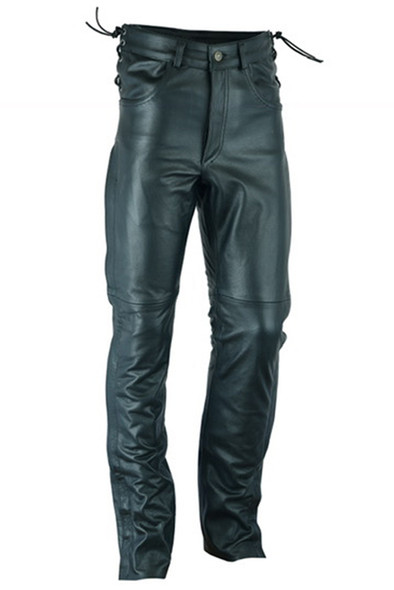 Men's Leather Over Pants - Deep Pocket -  Big and Tall - Up To 52 - DS450-DS