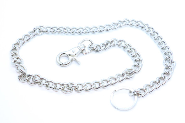 """34"""" - Wallet Chain - Chrome Plated - Key Chain Leash - WC003-DS"""