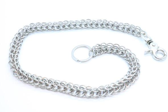 """27"""" - Wallet Chain - Chrome Plated - Key Chain Leash - Chain Link - WC17612-DS"""