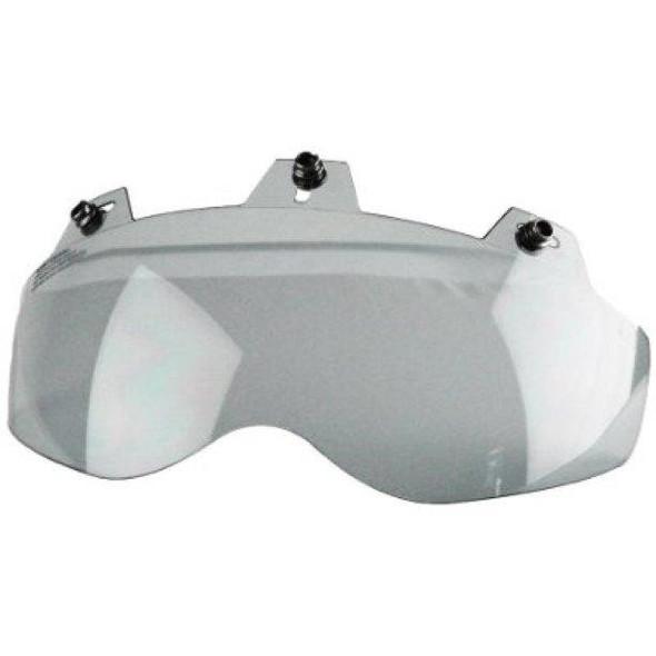 Daniel Smart 3 Snap Shorty Shield - Hard Coated - Smoke - Motorcycle Helmet Accessories - 02-301-DS