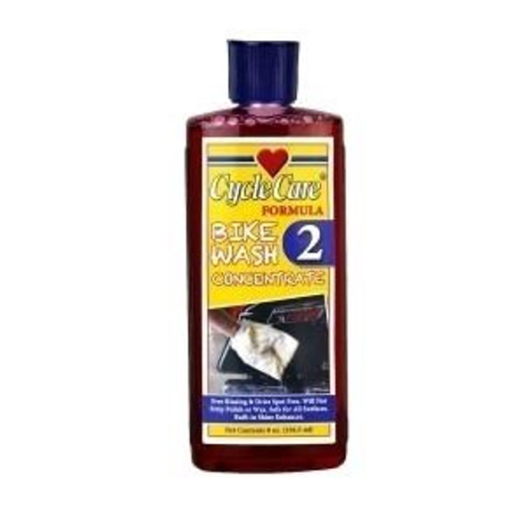Dealer Leather Cycle Care - Formula 2 - Bike Wash Concentrate - 8 oz - Motorcycle Detailing - 02088-DS