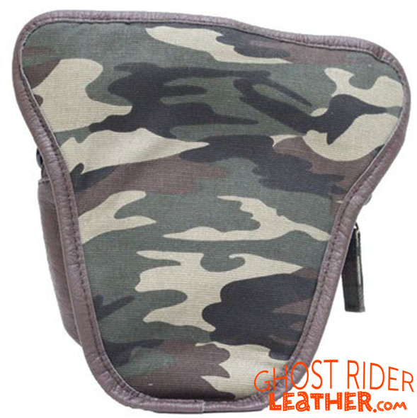 PVC Bag - Woodland Camo - Camouflage - Motorcycle - BAG29-DL